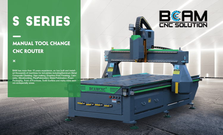 BCAM CNC router S series updated with good performance