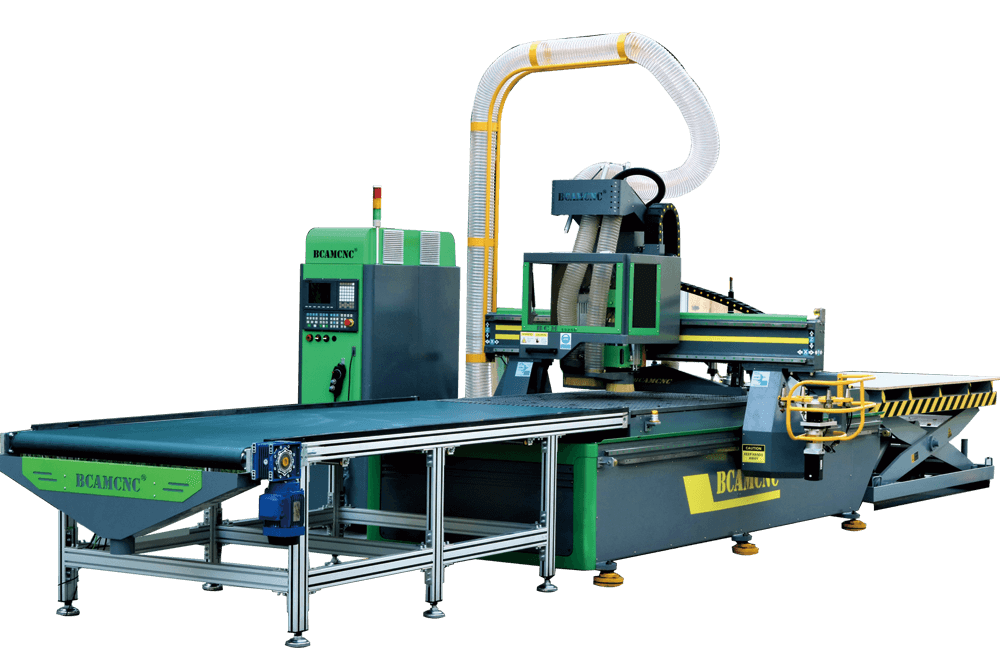 The China CNC Router--BCM1530E ordered by the US company